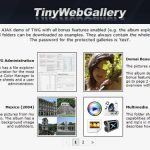 TinyWebGallery-php-free-image-gallery