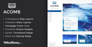 Acomb v1.0.5 – WordPress Blog Teması