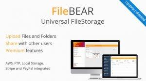 FileBear v1.5 – Premium File Sharing – Dosya Upload Scripti