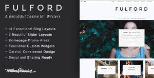 Fulford v1.0.7 – WordPress Blog Teması
