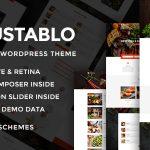 Gustablo v1.0 – Restaurant Ve Cafe Responsive WordPress Tema