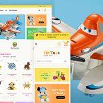 Kid Toys Opencart Oyuncak Alışveriş Sitesi Teması