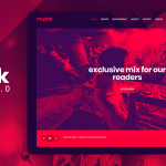 Muzak v5.2 – WordPress Müzik BLog Teması