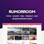 RumorRoom WordPress Portal Magazin Teması