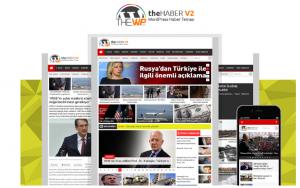 wordpress the wp haber teması