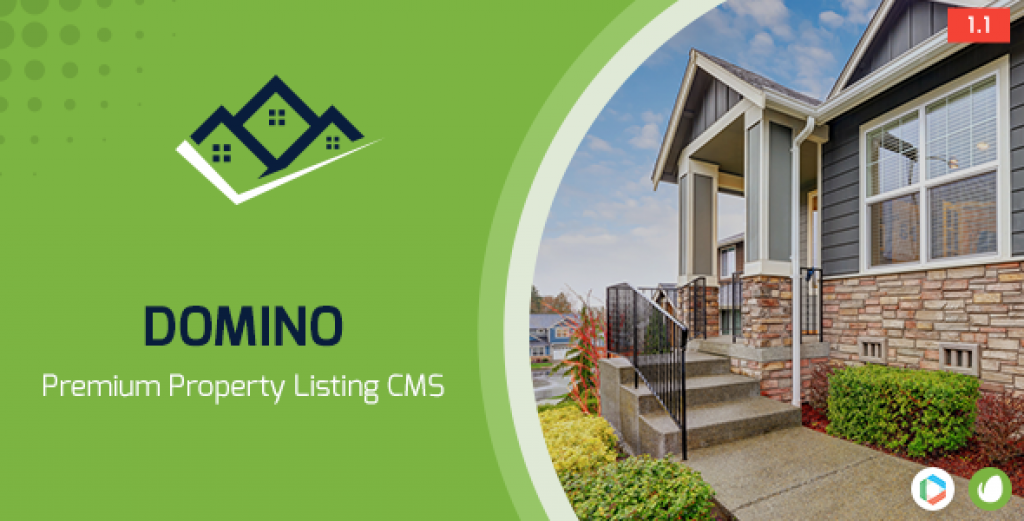 Domino v1.1 – Real Estate Property Listing Cms
