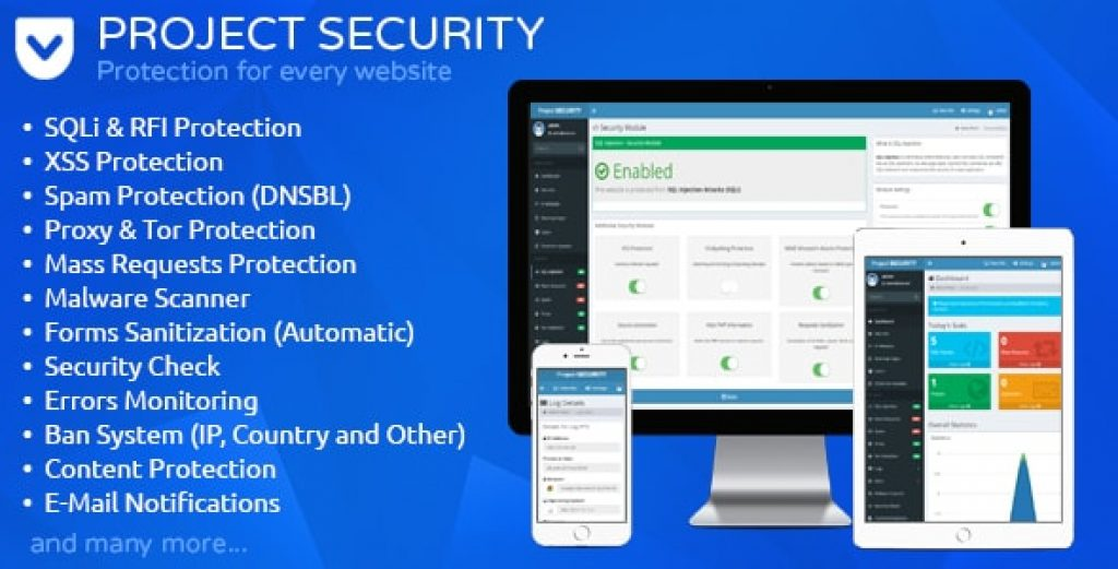 project-security-website-security-antivirus-firewall