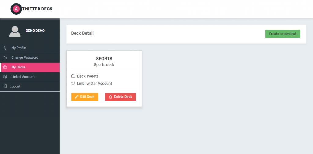 Twitter Deck