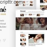 femme-v1-1 wordress online alışveriş ve blog teması