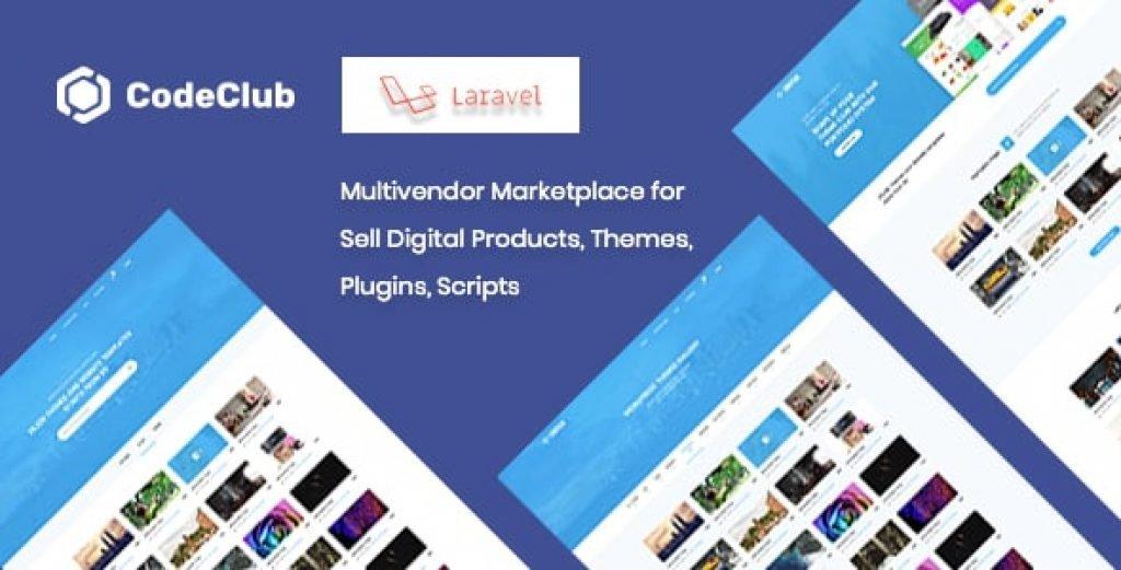 Codeclub – Dijital Ürünleri, Temaları, Eklentileri, Scriptleri Satmak İçin Pazar Scripti İndir