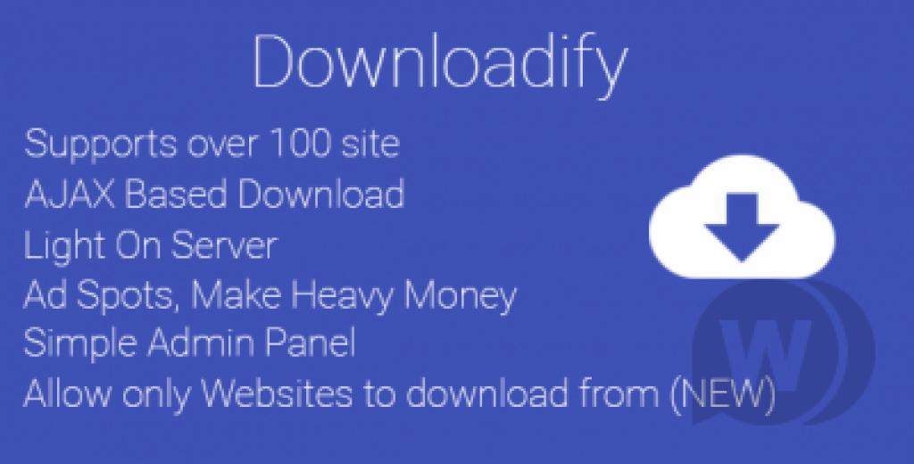 Downloadify Ücretsiz Online Video İndirme Scripti İndir