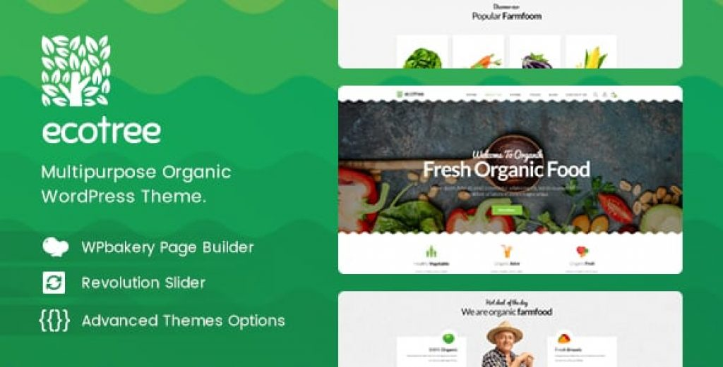 Ecotree v1.1 – Organik Gıda WordPress Teması İndir