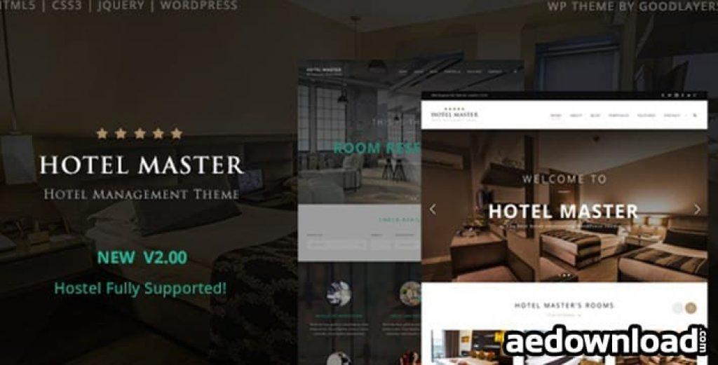 Hotel Master – Ücretsiz WordPress Otel Teması İndir