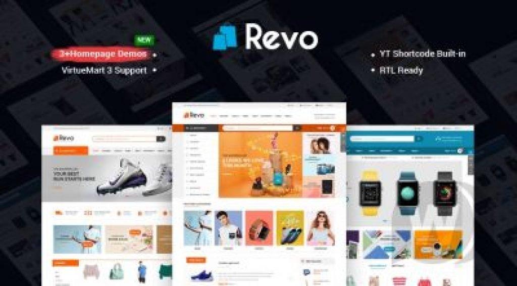 Revo v3.9.0 Ücretsiz Joomla Alışveriş Teması İndir