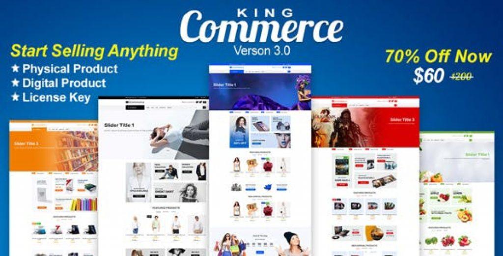 KingCommerce - KingCommerce Alışveriş Script İndir